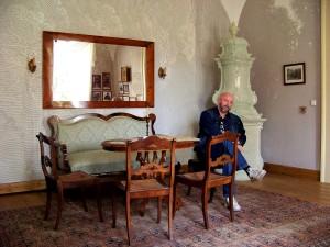Dolná Strehová - kaštieľ 11 - XI.2014