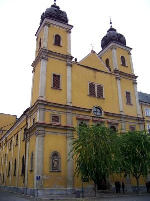 Kostol sv. Františka Xaverského Trenčín 2 - XI.2014