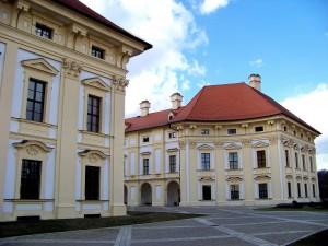 Slávkov u Brna, zámok 3 - 4.3.2015