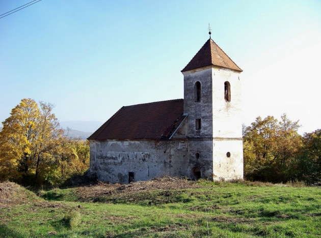 Dolné Lelovce - Kostol Narodenia Panny Márie 8 - 31.10.2015