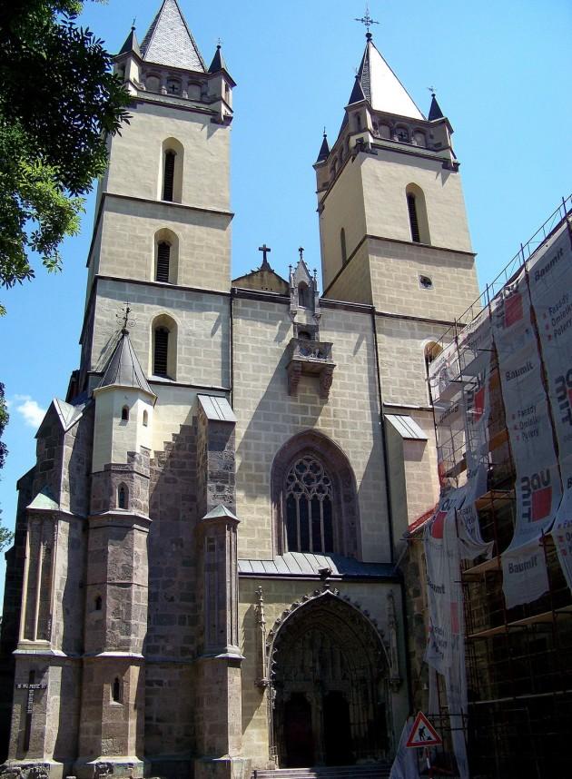 2 Hronský Beňadik, kostol a kláštor 13 - 4.7.2015