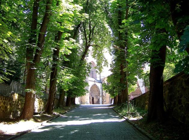 36 Hronský Beňadik, kostol a kláštor 28 - 4.7.2015