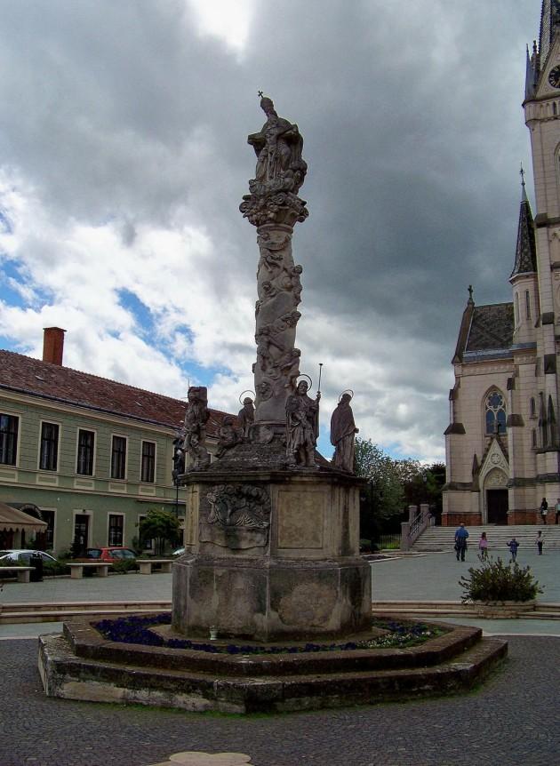 Kőszeg, (stĺp sv.Trojice), Maďarsko 69 - 2.5.2015