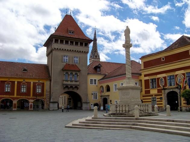 Kőszeg,(mestská brána), Maďarsko 52 - 2.5.2015