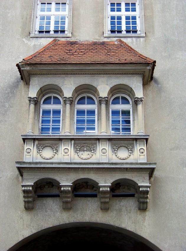 Kőszeg,(mestská brána), Maďarsko 59 - 2.5.2015