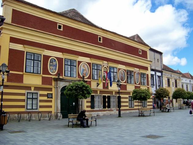 Kőszeg,(radnica), Maďarsko 52 - 2.5.2015